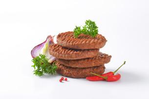Beef Burger Pattiesの素材 [FYI00764313]
