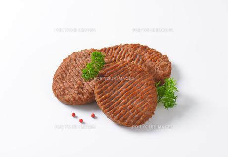 Beef Burger Pattiesの素材 [FYI00764317]