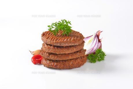 Beef Burger Pattiesの素材 [FYI00764320]