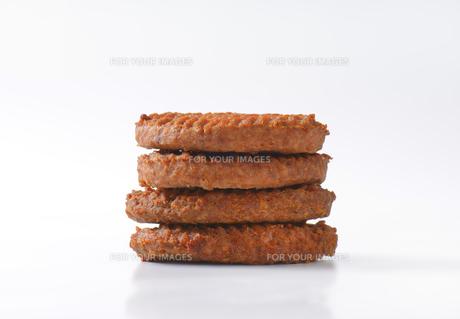 Beef Burger Pattiesの素材 [FYI00764323]