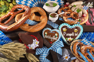bavaria and oktoberfestの写真素材 [FYI00764393]
