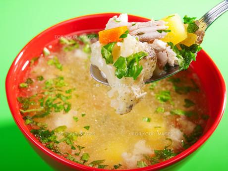 Vegetable soup,Vegetable soup,Vegetable soup,Vegetable soupの写真素材 [FYI00764817]