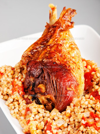 Turkey with buckwheat,Turkey with buckwheat,Turkey with buckwheat,Turkey with buckwheatの写真素材 [FYI00764827]