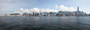 Hong Kong Island Central City Skylineの写真素材 [FYI00764935]