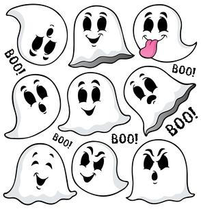 Ghost topic image 7の写真素材 [FYI00765431]