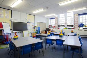 Empty Classroomの写真素材 [FYI00765449]