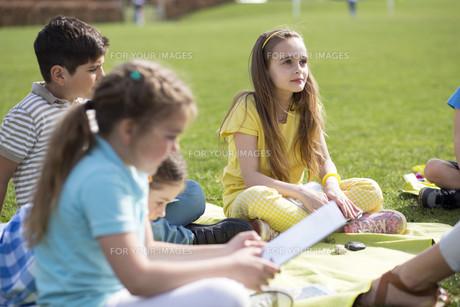 Lesson outdoorsの写真素材 [FYI00765461]