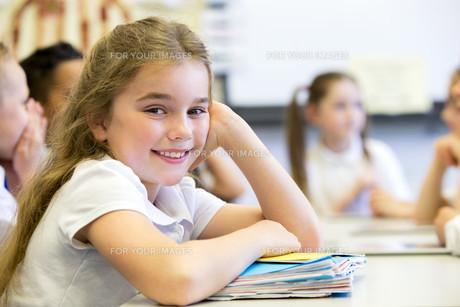 Happy at Schoolの写真素材 [FYI00765494]