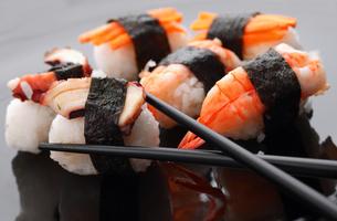 Sushi,Sushi,Sushi,Sushi,Sushi,Sushi,Sushi,Sushiの写真素材 [FYI00765797]