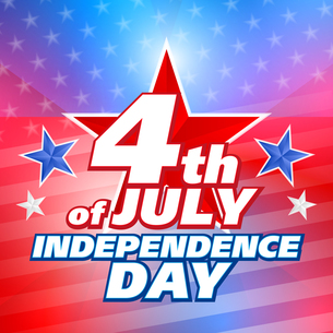 American 4th of July, vector backgroundの写真素材 [FYI00765968]
