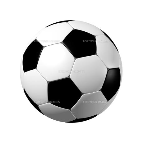 サッカーボール 3Dイラストのイラスト素材 [FYI00766210]