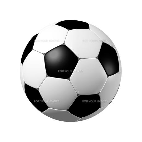 サッカーボール 3Dイラストのイラスト素材 [FYI00766211]