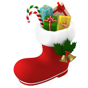 クリスマスプレゼントのイラスト素材 [FYI00766285]