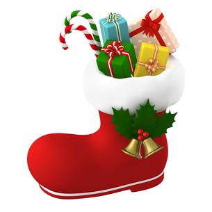 クリスマスプレゼントのイラスト素材 [FYI00766286]