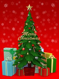 クリスマスツリーのイラスト素材 [FYI00766309]