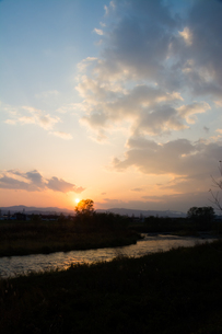 夕焼け空の写真素材 [FYI00766342]