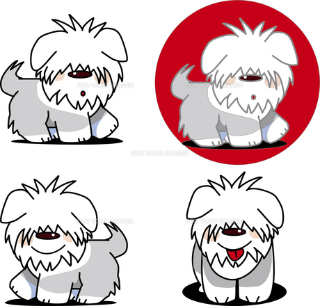 ペットは犬が可愛い犬のイラスト素材 [FYI00766975]