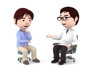 医者の診察、検診のイラスト素材 [FYI00767033]