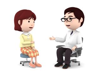 医者の診察、検診のイラスト素材 [FYI00767034]