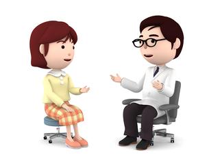 医者の診察、検診のイラスト素材 [FYI00767035]
