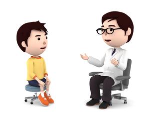 医者の診察、検診のイラスト素材 [FYI00767048]