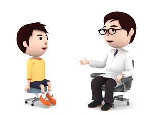医者の診察、検診のイラスト素材 [FYI00767049]