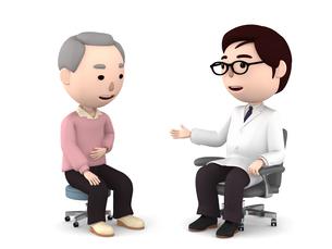 医者の診察、検診のイラスト素材 [FYI00767050]