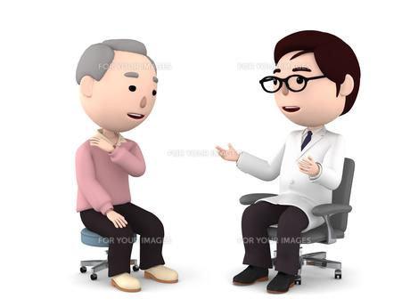 医者の診察、検診のイラスト素材 [FYI00767051]