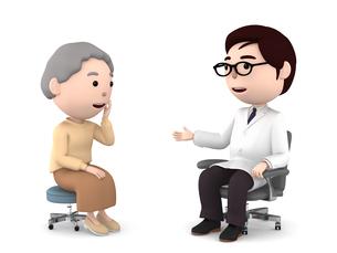 医者の診察、検診のイラスト素材 [FYI00767053]