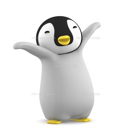 ペンギンのこどものイラスト素材 [FYI00767097]