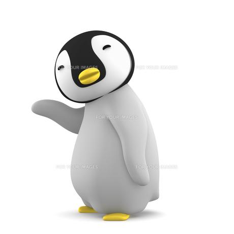 ペンギンのこどものイラスト素材 [FYI00767098]