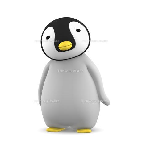 ペンギンのこどものイラスト素材 [FYI00767099]