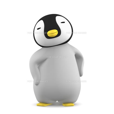 ペンギンのこどものイラスト素材 [FYI00767100]