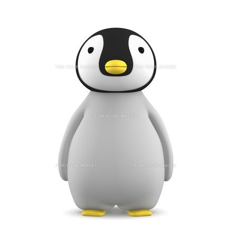 ペンギンのこどものイラスト素材 [FYI00767102]