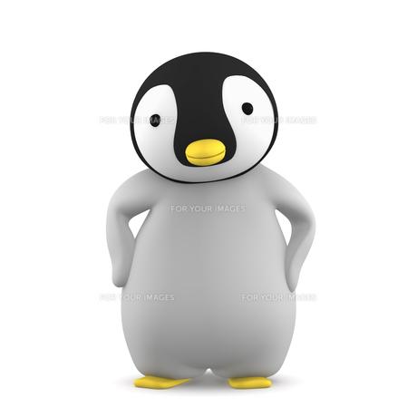 ペンギンのこどものイラスト素材 [FYI00767104]