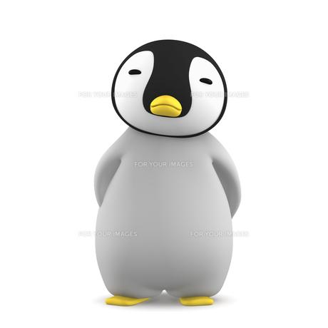 ペンギンのこどものイラスト素材 [FYI00767105]