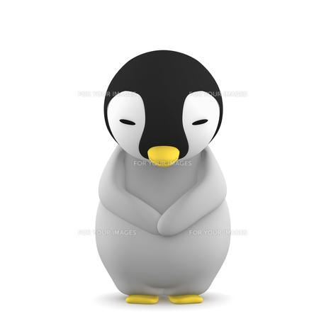 ペンギンのこどものイラスト素材 [FYI00767106]