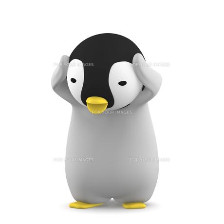 ペンギンのこどものイラスト素材 [FYI00767107]