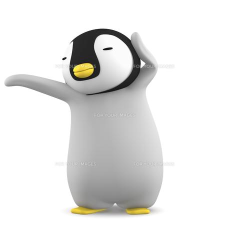 ペンギンのこどものイラスト素材 [FYI00767108]