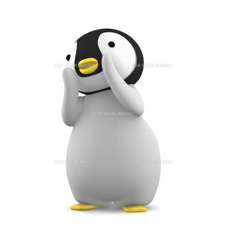ペンギンのこどものイラスト素材 [FYI00767109]
