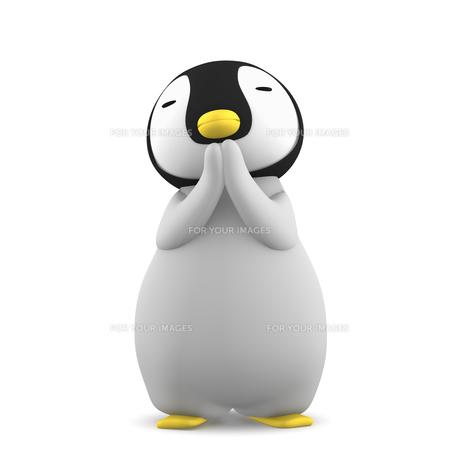 ペンギンのこどものイラスト素材 [FYI00767110]