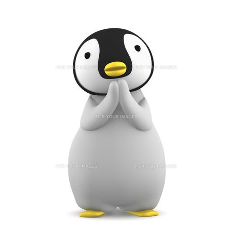 ペンギンのこどものイラスト素材 [FYI00767111]