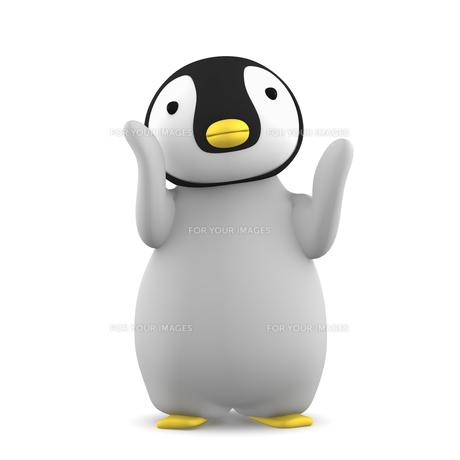 ペンギンのこどものイラスト素材 [FYI00767112]