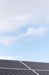ソーラーパネルの写真素材 [FYI00767148]