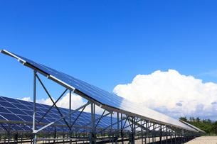 ソーラーパネルの写真素材 [FYI00767152]