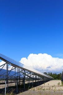 ソーラーパネルの写真素材 [FYI00767161]