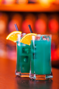 Cocktails Collection - Deep Blue Seaの写真素材 [FYI00767424]