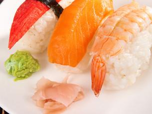 Nigiri Sushi,Nigiri Sushi,Nigiri Sushi,Nigiri Sushiの写真素材 [FYI00767429]
