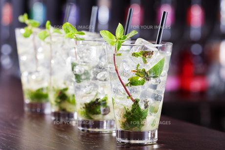 Cocktails Collection - Mojito,Cocktails Collection - Mojito,Cocktails Collection - Mojito,Cocktails Collection - Mojitoの素材 [FYI00767508]