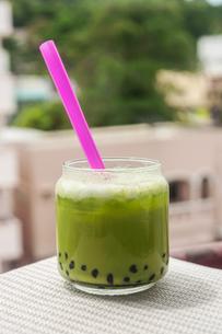 green tea, famous drinkの写真素材 [FYI00767715]